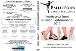 BalletNova  Youth & Teen Performance 06/16/2018 at 5:00pm