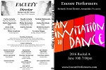 Recital 06/10/16 7:00pm by Encore Performers Dance Studio